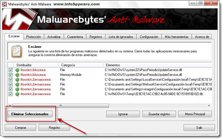 Guía de cómo eliminar el Rootkit.ZeroAccess (Abnow)