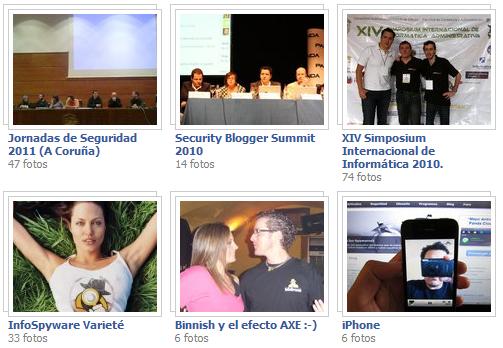 Ver las Fotos de InfoSpyware en Facebook
