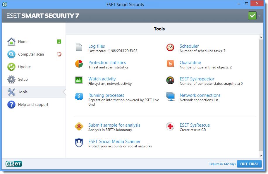Eset Smart Security 2015 Infospyware