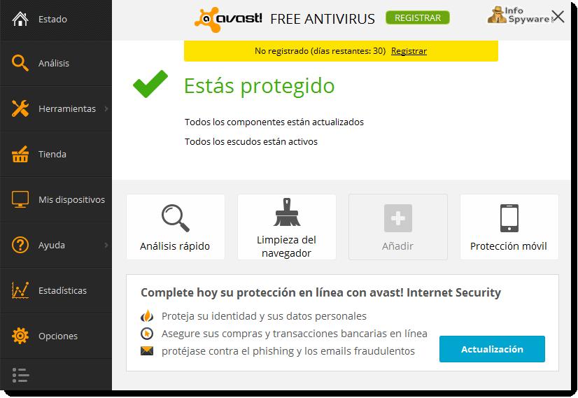descargar avast free antivirus 2016 gratis en espa?ol