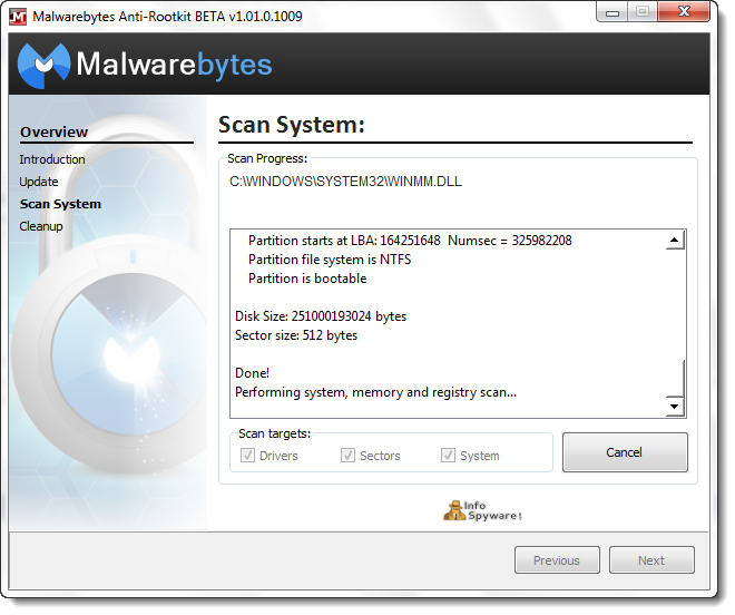 Malwarebytes Anti-Rootkit (Beta)